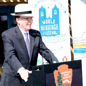 Press Conference during the World Heritage Festival