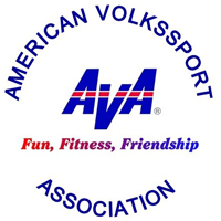 American Volkssport Association: Fun, Fitness Friendship logo