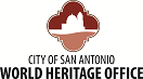 City of San Antonio World Heritage logo